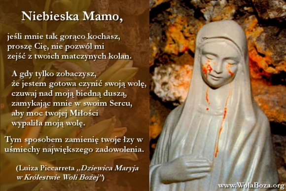 łzy Maryi