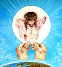 Hostia z Jezusem
