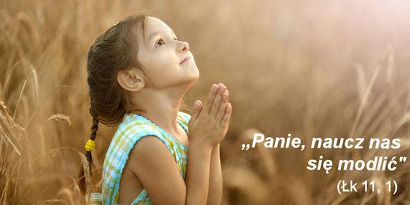 Modlitwa małej dziewczynki
