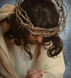 Jezus w koronie cierniowej