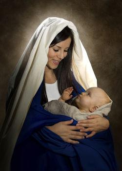 Matka Boża z Dzieciątkiem Jezus
